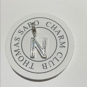 "Thomas Sabo letter ""N"" charm"